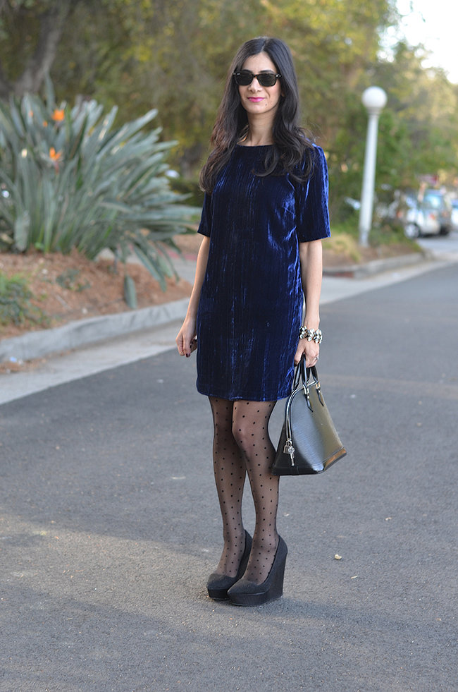 Congrats, AVintageSplendor! We're crushing on your velvet look.