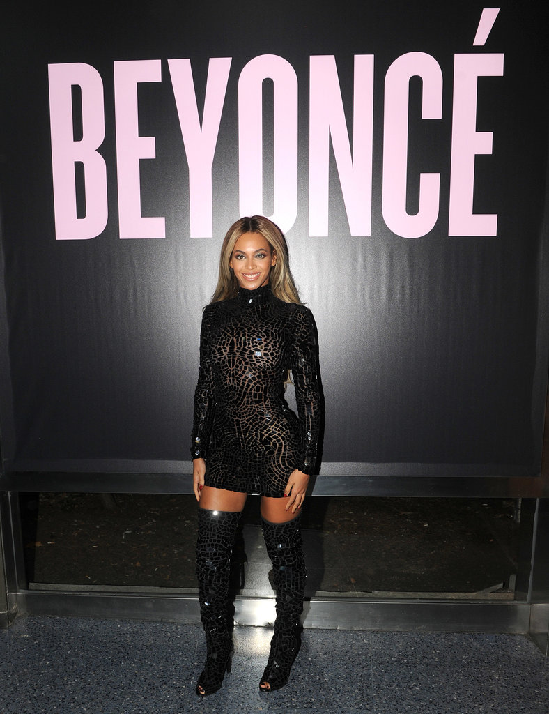Beyoncé stopped by NYC's School of Visual Arts.