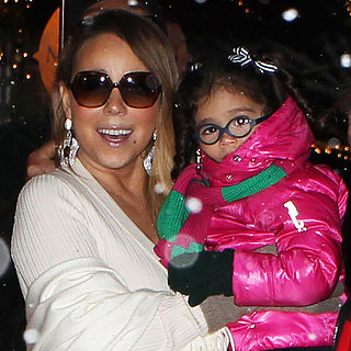 Mariah Carey With Monroe and Moroccan in Aspen | Photos