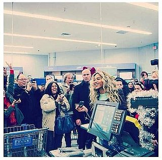 Beyonce Gives Lucky Holiday Shoppers a Surprise They'll Never Forget