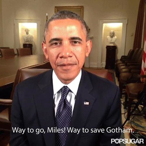 Even President Obama had a message for Miles! Source: Vine user White House Video