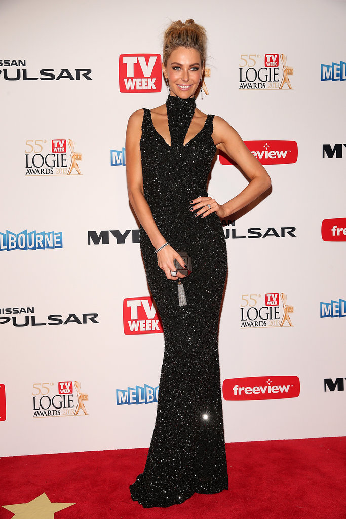 Jayson Brunsdon was the name on everyone's lips when Jen wore his gorgeous gown to the 2013 Logie Awards in April.