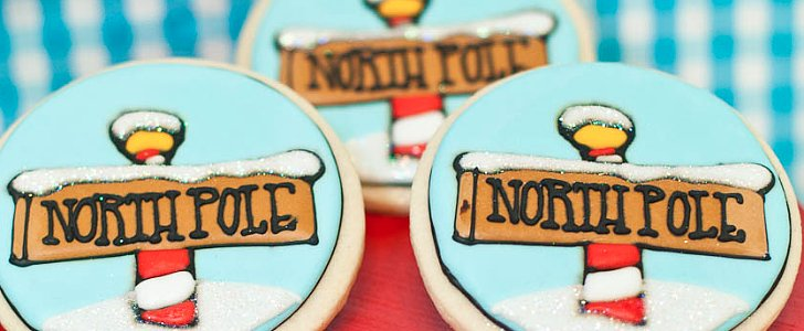 A North Pole-Inspired Cookie-Making Party