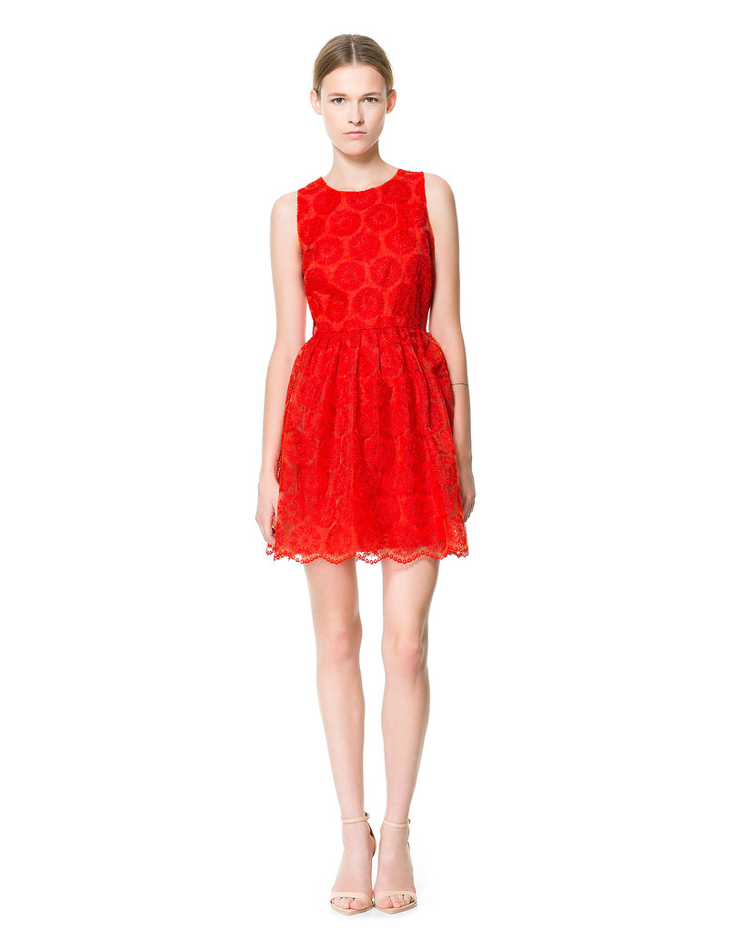 Zara Fantasy Fabric Dress ($60, originally $90)
