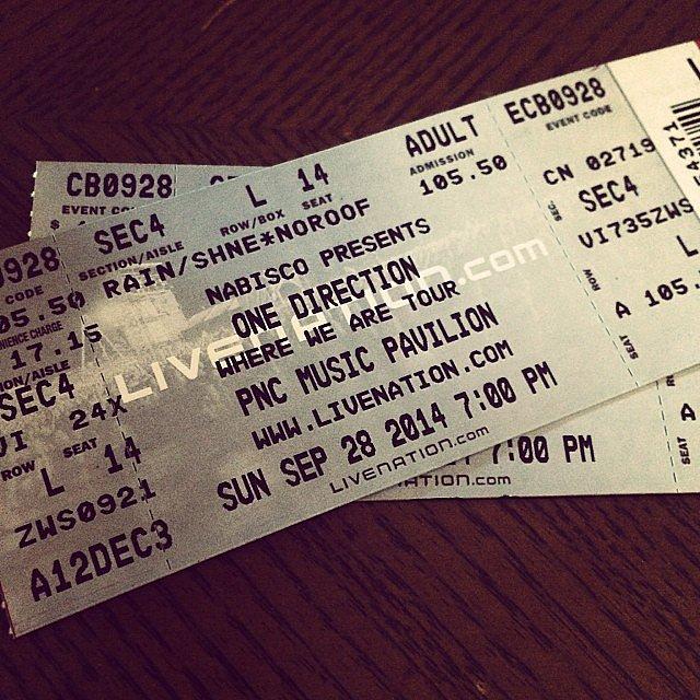 Concert Tickets Concert tickets