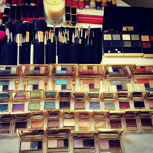 The bright colors and gorgeous packaging of this Estée Lauder spread is just the type of photo we can't resist tapping on Instagram. Source: Instagram user esteelauder