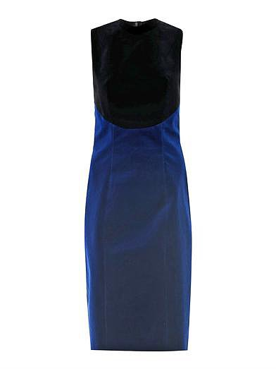 Christopher Kane Bi-Color Velvet Dress ($1,994)