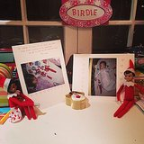 """Busy Philipps showed off some """"sELFies"""" that the elves took with her little ones. Source: Instagram user busyphilipps"""