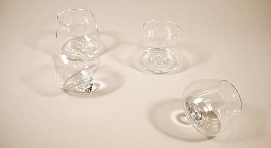 Rikke Hagen Cognac Glasses For Normann Copenhagen