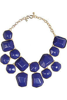 Gold-plated resin necklace by Kenneth Jay Lane