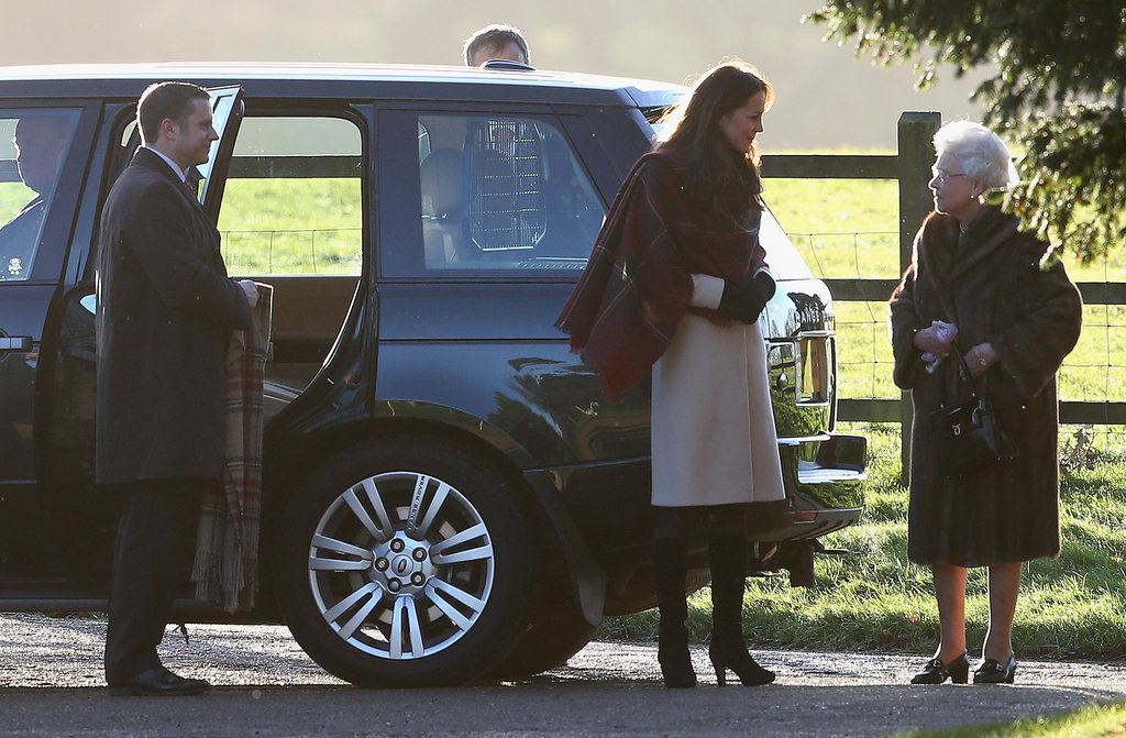 Kate Middleton and the Queen prepared for Christmas services.