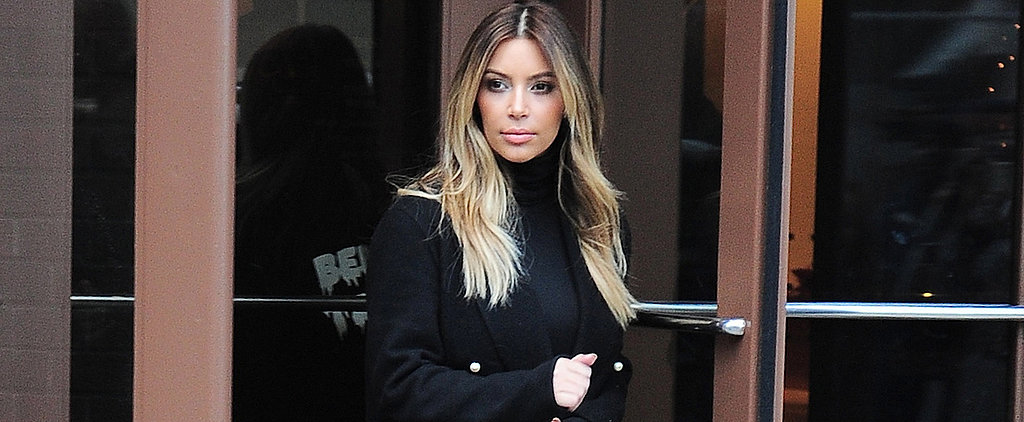 Kim Kardashian Makes a Case For the Turtleneck