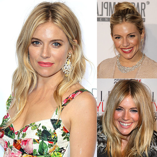Best Celebrity Beauty: Sienna Miller Hair, Makeup & Beauty