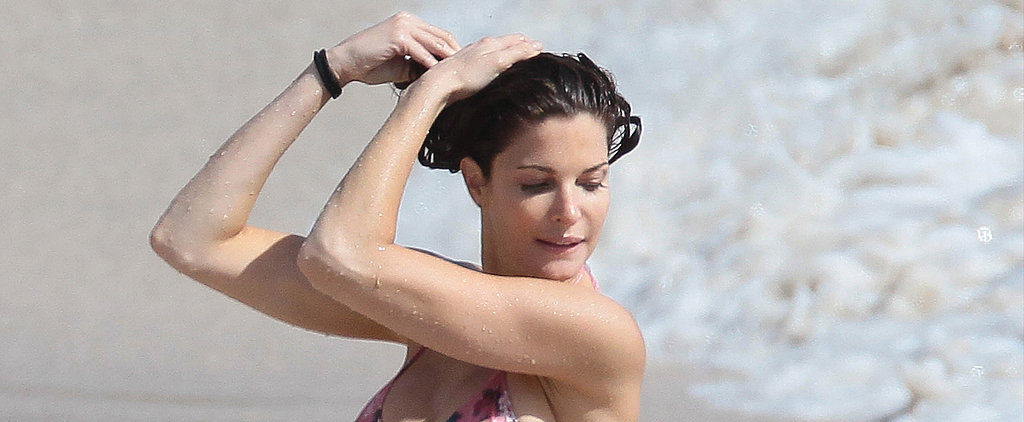 Stephanie Seymour Keeps the Holiday Bikini Time Coming