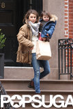 Keri Russell and her daughter, Willa, stepped out in NYC on Friday.