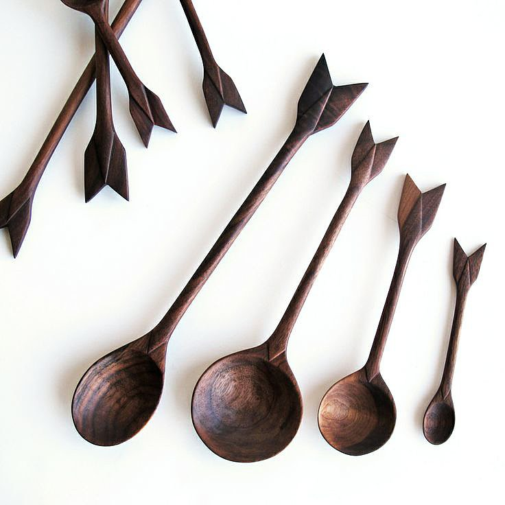 Just imagine how cute these artisanal Arrow Spoons ($150) would look clustered in a container — spoon side down, of course. Hand-carved in New York's Brooklyn borough and coated with beeswax and mineral oil, they would make an incredible hostess gift.  — AE