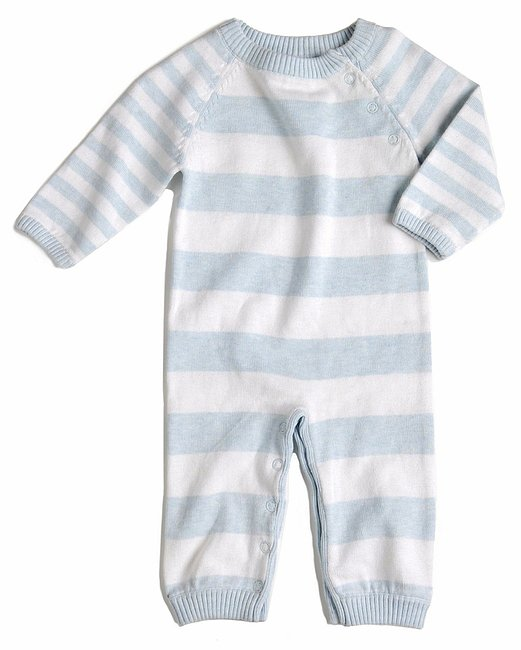 Egg by Susan Lazar Striped Knit Layette