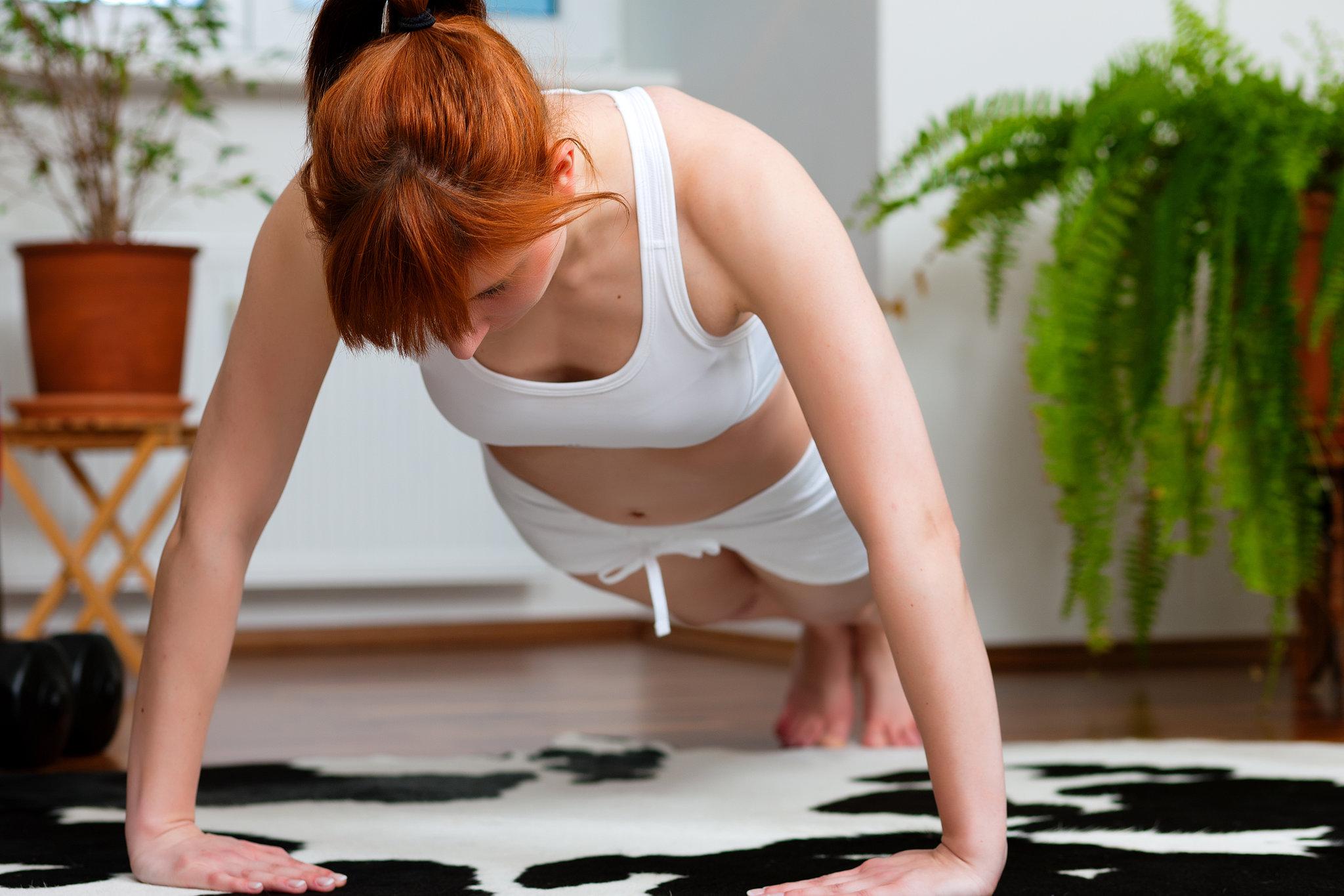 yoga afvallen oefeningen