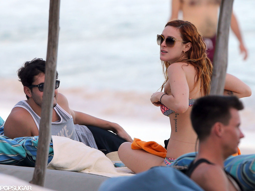 Rumer Willis joined Demi Moore on her vacation in Mexico.