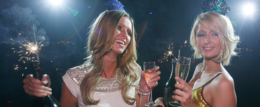 Cheers to 2014! See the Stars Popping Bottles
