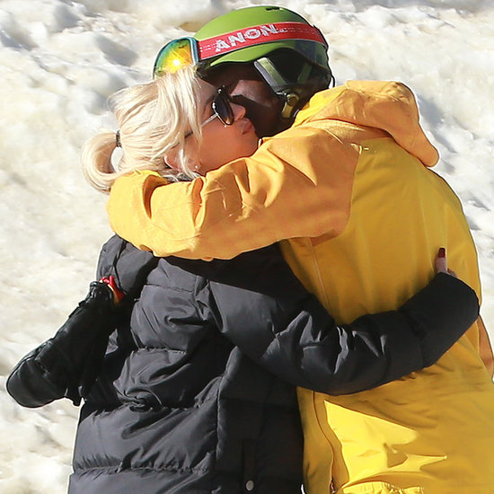 Gwen Stefani and Her Kids in the Snow
