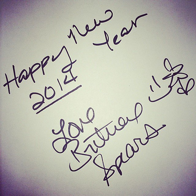 Britney Spears penned a note to her followers.  Source: Instagram user britneyspears
