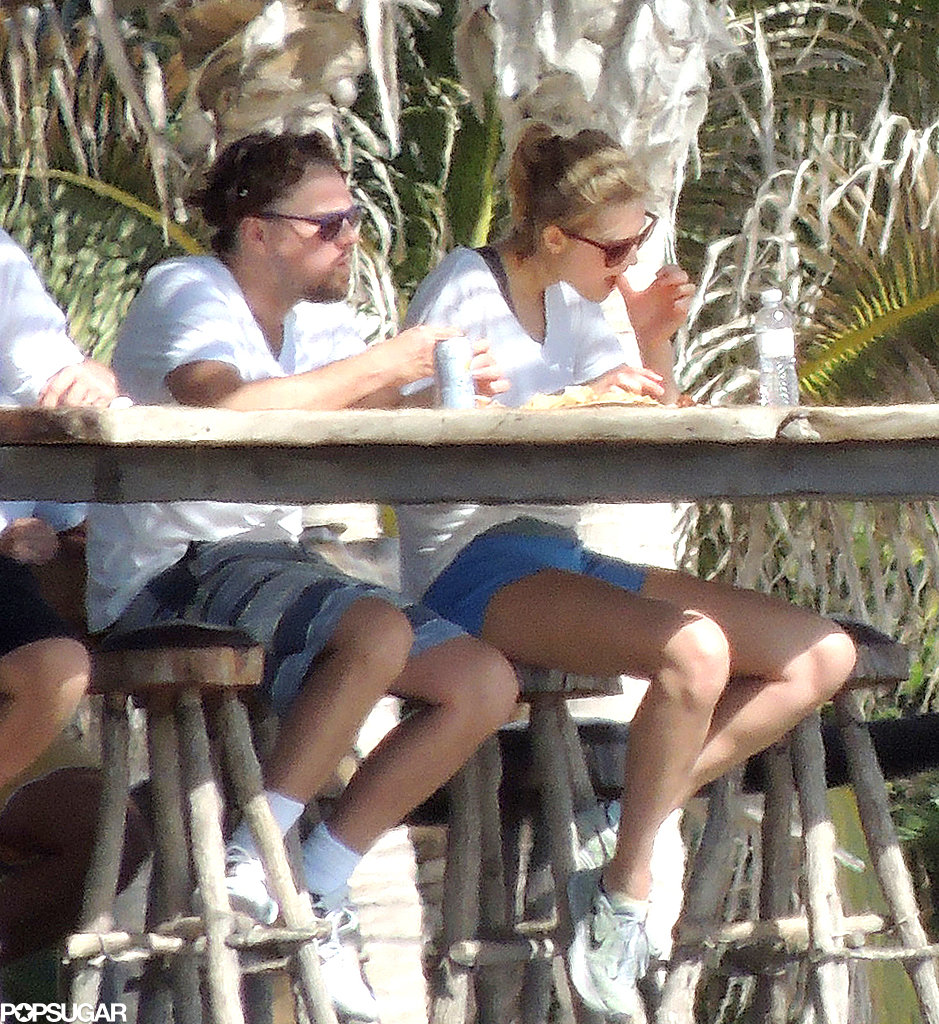 Leo and Toni vacationed together in Mexico.