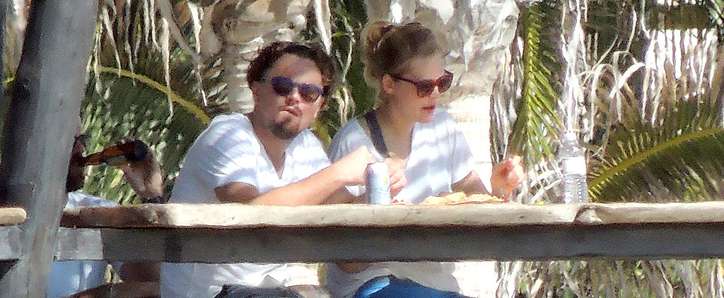 Leo and Toni Go Matchy-Matchy in Mexico