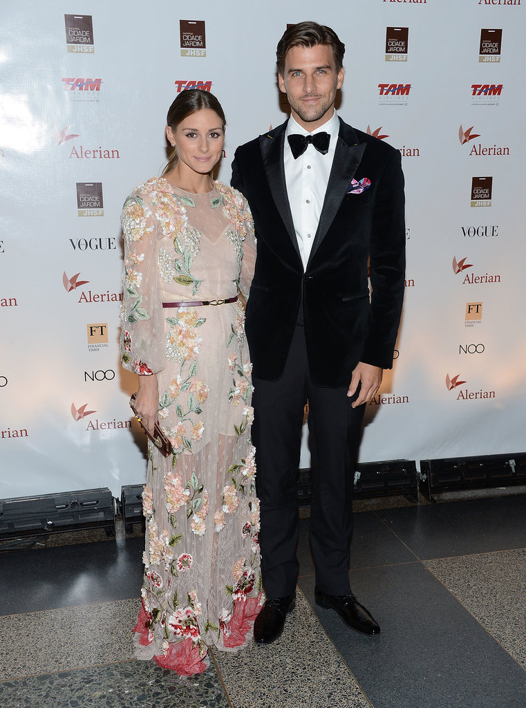 The couple celebrated the annual Brazil Foundation Gala Party with festive, colorful accents.