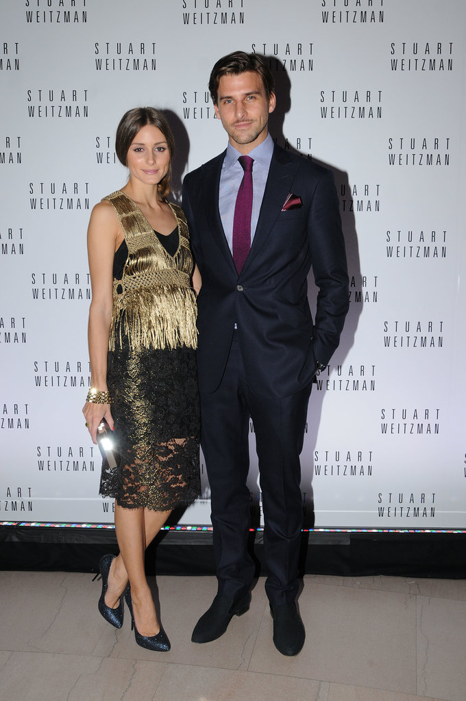 Olivia and Johannes shone in metallics at a 2012 event for Mario Testino's first US photography exhibit.