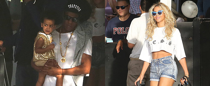 Beyoncé Looks Better Than Ever With Jay Z and Blue