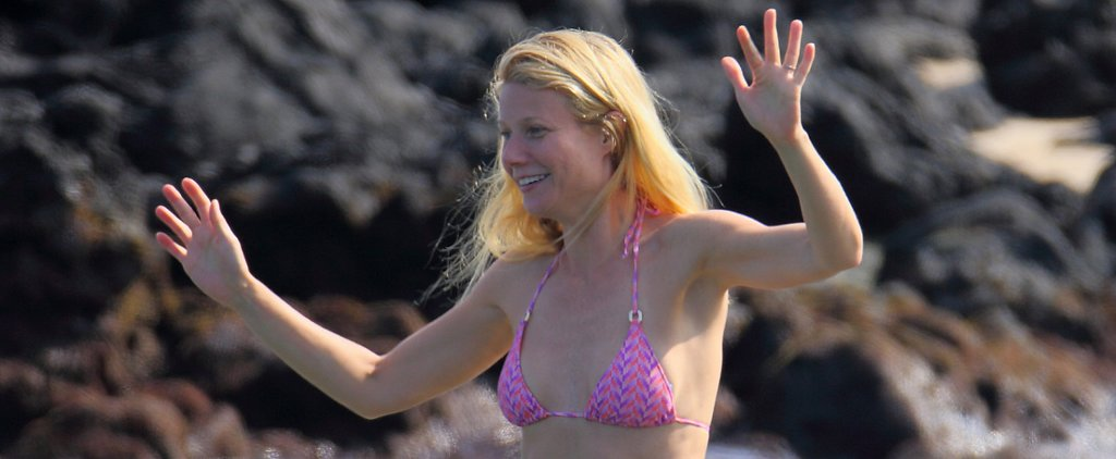 Gwyneth and Chris Show Off Their Incredible Bodies and Tattoos