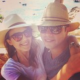 Jessica Alba and Cash Warren stayed close during their Cabo vacation. Source: Instagram user jessicaalba