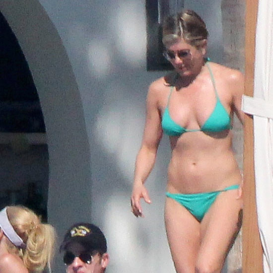 Jennifer Aniston Breaks Out Another Bikini in Cabo