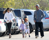 Of Course the McConaugheys Went on a Family Jog