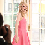 Emma Stone's New Revlon ColorBurst Lip Crayon Collection Ad