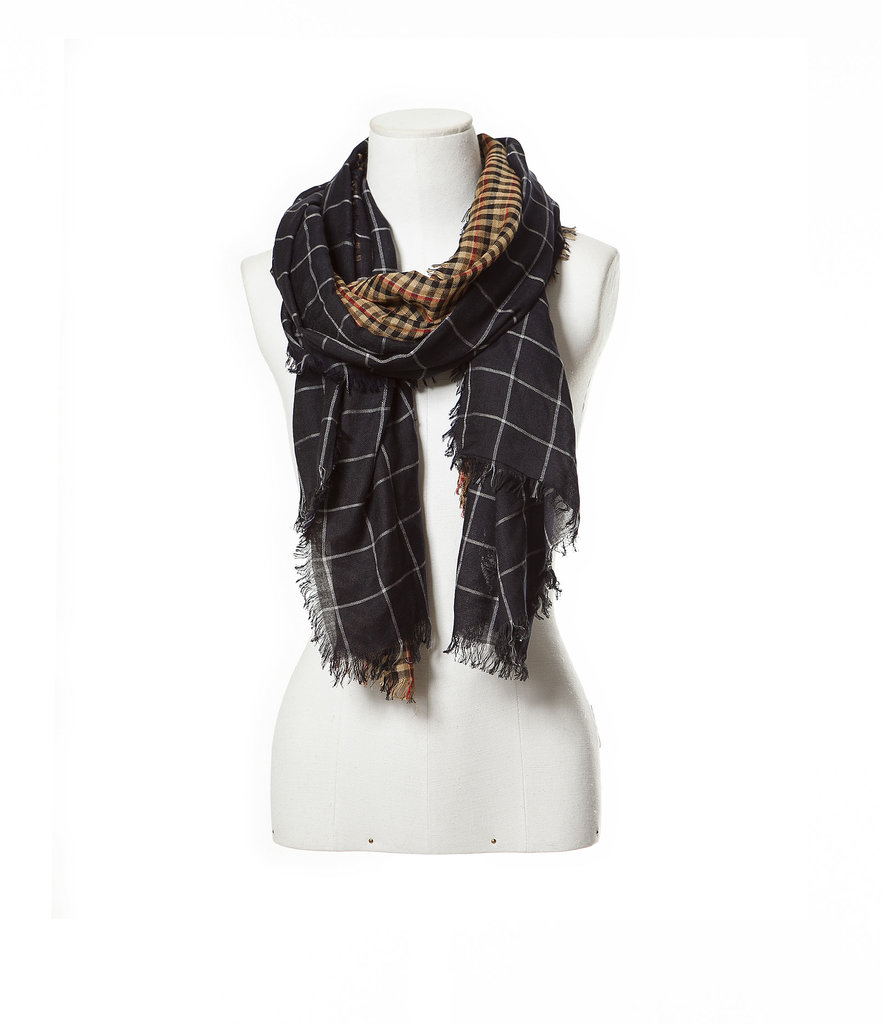 Zara Combination Plaid Scarf