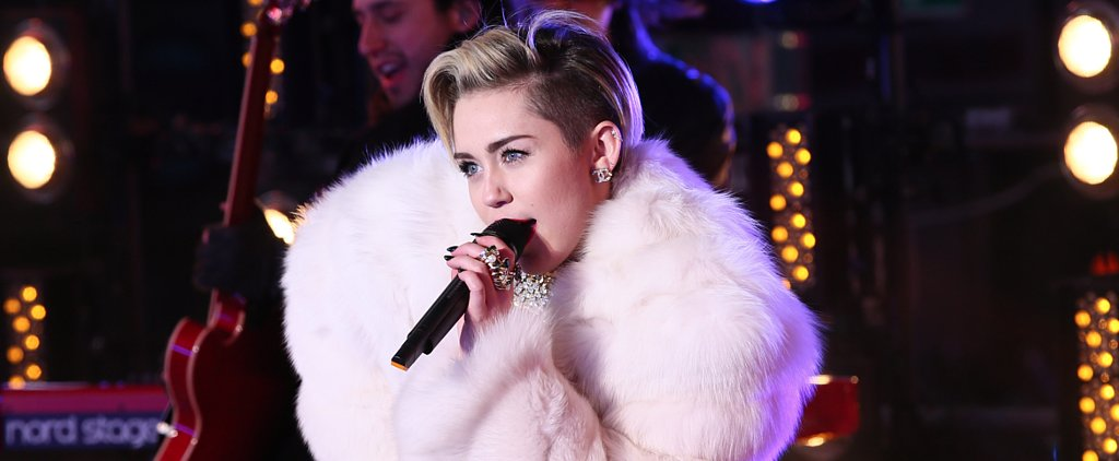 Miley Cyrus Continued Her Social Media Domination Into 2014