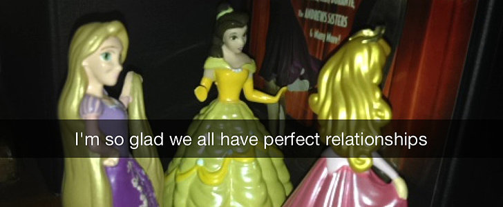 Disney Princesses Deal With Dating Drama in Snapchat Series
