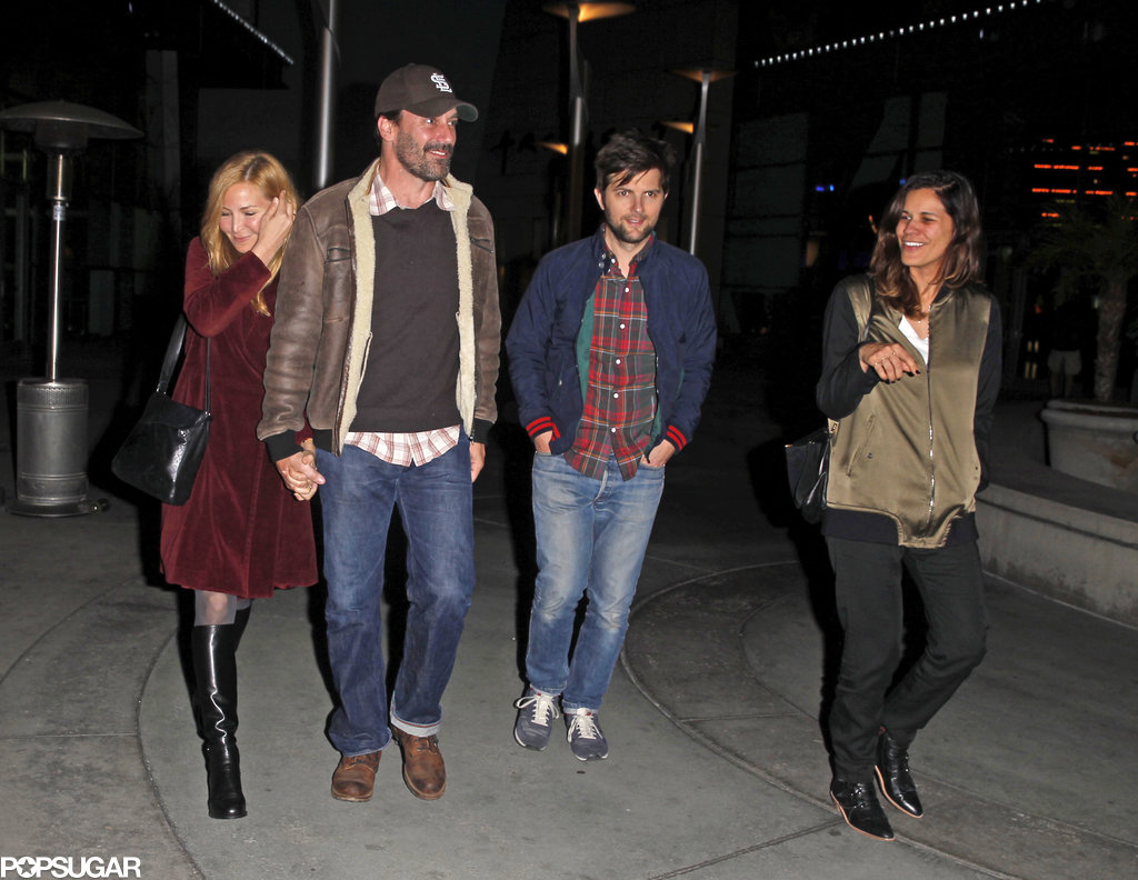 Jennifer, Jon, Adam, and Naomi walked together.