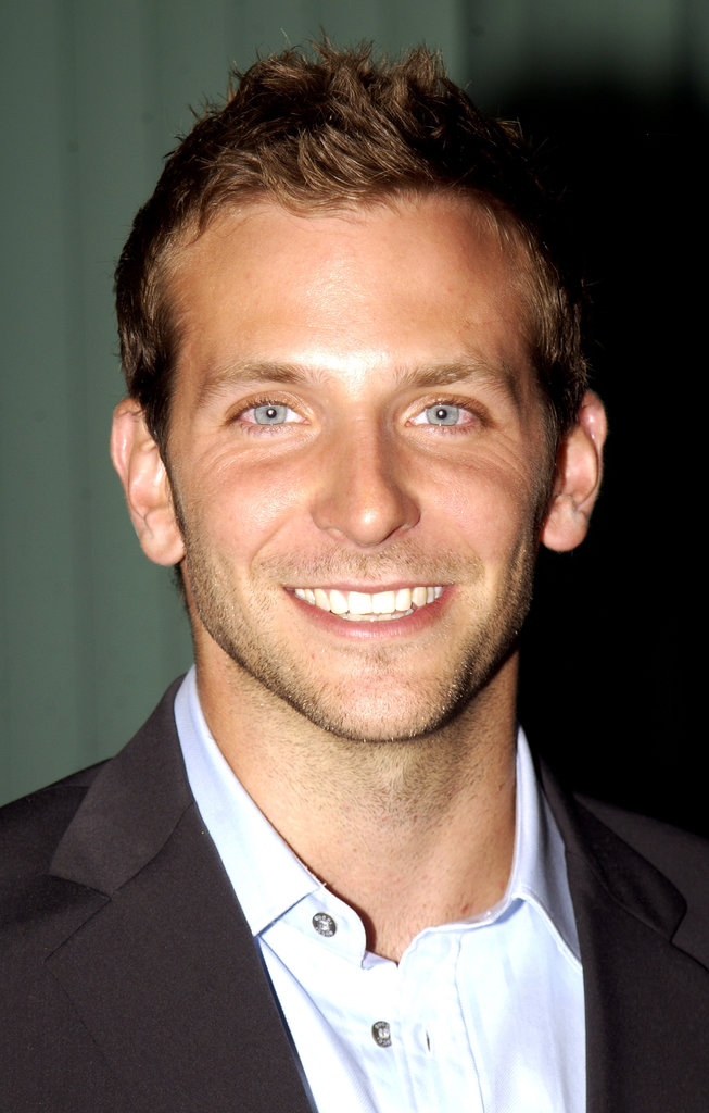 Ah, so young and fresh-faced — Bradley's eyes looked especially gorgeous at an Alias event in October 2002.