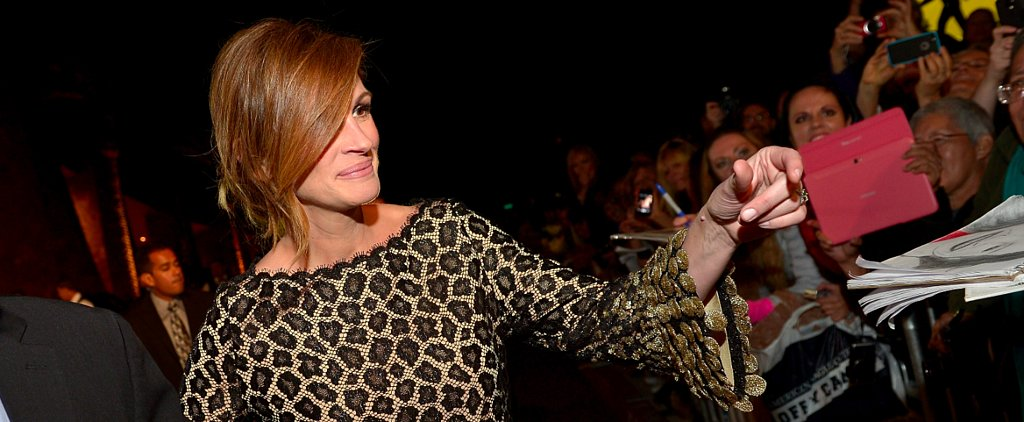 Julia Roberts's Bangs Are Paparazzi-Proof