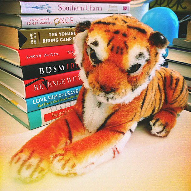 This stuffed animal is perfect for getting in on the tigers of Tinder trend.
