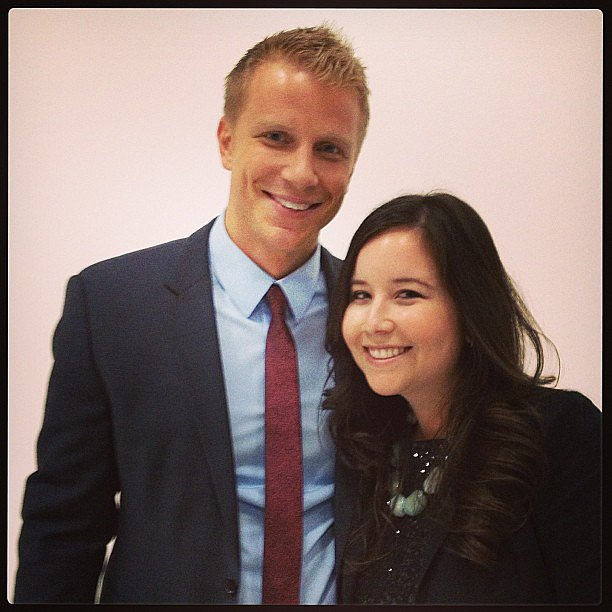Sean Lowe looking good at the Women Tell All taping.