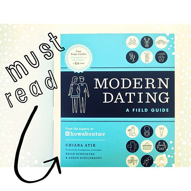 Loving this modern dating guide from HowAboutWe.