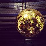 Disco ballin' it at The Cream event.