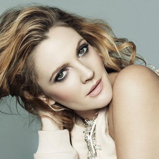 Drew Barrymore Pictures in US Marie Claire February 2014