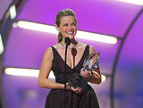 When Reese Witherspoon won the award for favorite female lead in Walk the Line in 2006 and was practically glowing!