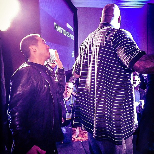 The DJ Who Stood This Close to Shaq