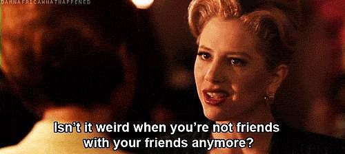 When You Run Into Anyone You're Not Facebook Friends With